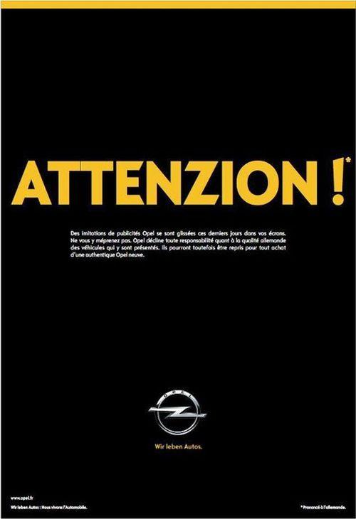 Opel-réponse