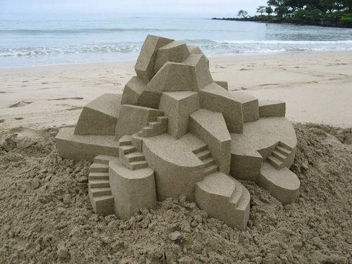 Chateau-sable-geometrique-07